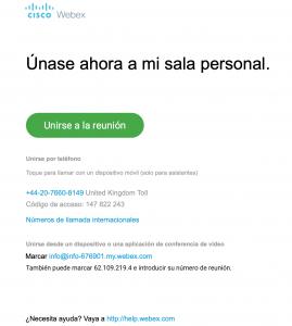 correo de acceso