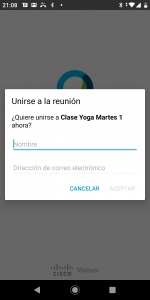Android usuario